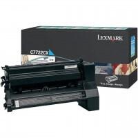 Lexmark Toner C7722CX cyan