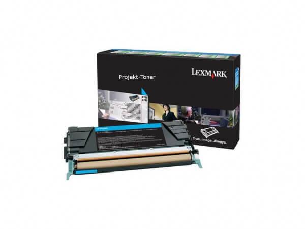 Lexmark Toner X746A3CG cyan