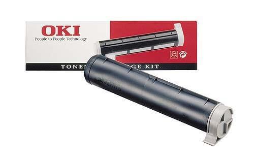 Original OKI Toner 09002390 black - reduziert