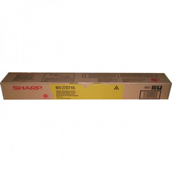 Original Sharp Toner MX-27GTYA yellow - C-Ware