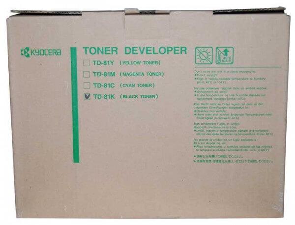 Kyocera Toner TD-81K black - reduziert