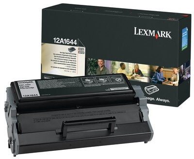 Lexmark Toner 12A1644 black - C-Ware