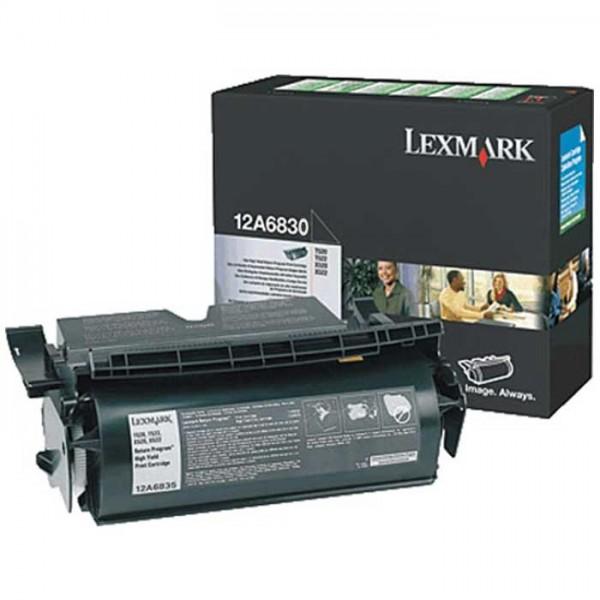 Lexmark Toner 12A6835 black - reduziert