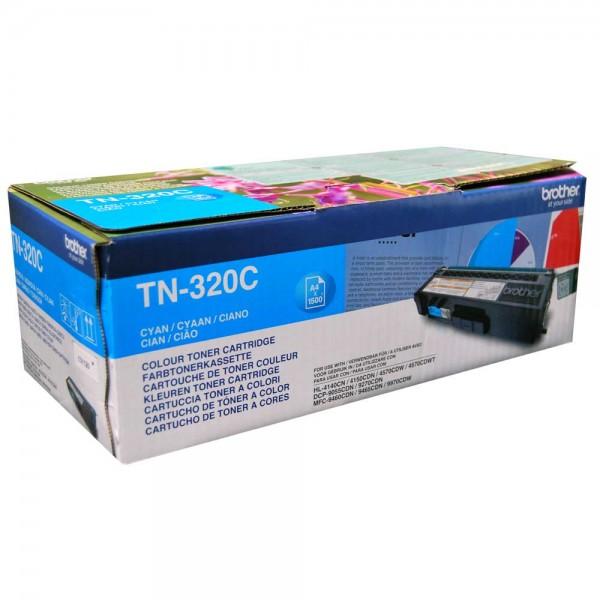 Original Brother Toner TN-320C cyan - reduziert