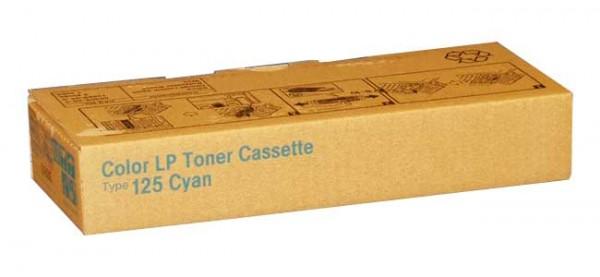 Original Ricoh Toner 400839 Type 125 cyan - Neu & OVP