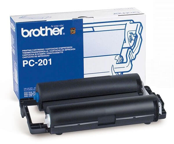 Brother Kassette mit Thermorolle PC-201