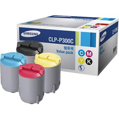 Original Samsung Toner CLP-P300C Rainbow Kit - Neu & OVP