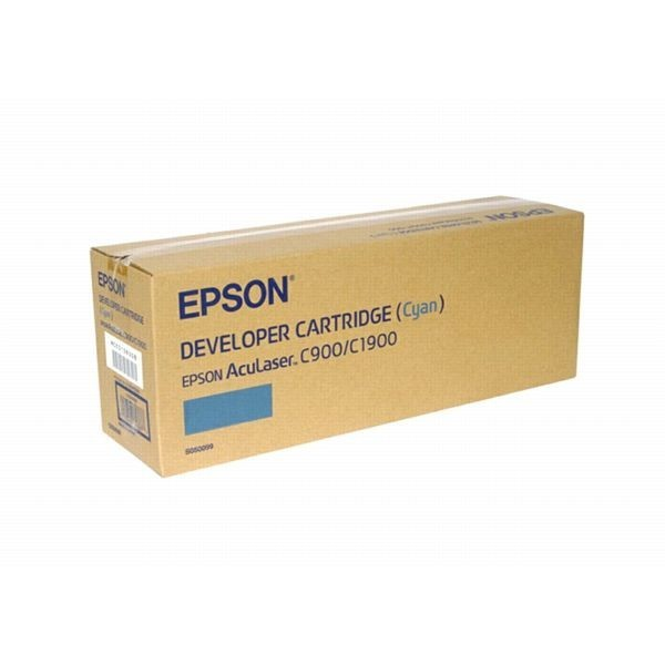 Original Epson AcuLaser Toner S050099 cyan - Neu & OVP