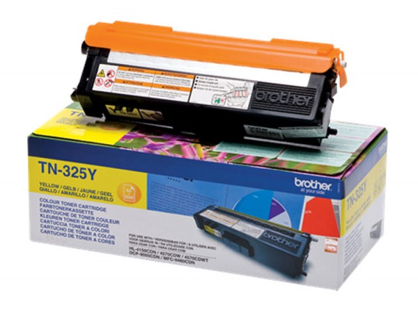 Brother Toner TN-325Y yellow - C-Ware
