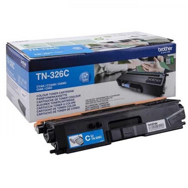 Original Brother Toner TN-326C cyan - Neu & OVP