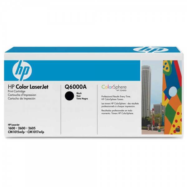 HP Color Laserjet Toner Q6000A black