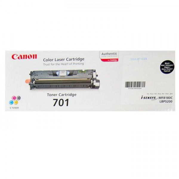 Canon 701 Toner 9287B003 black - reduziert
