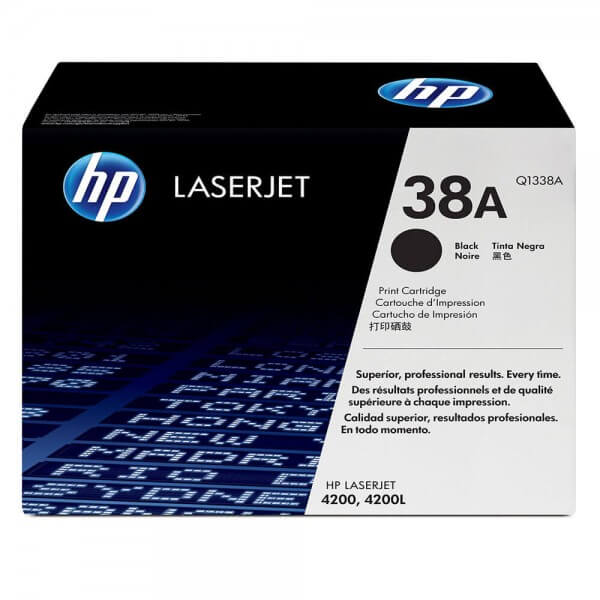 HP Laserjet Toner - Q1338A black - reduziert