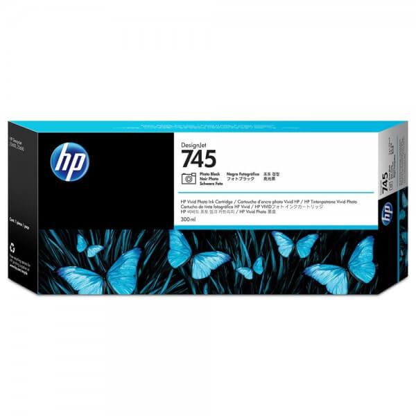 HP 745 Tinte F9K04A photo black
