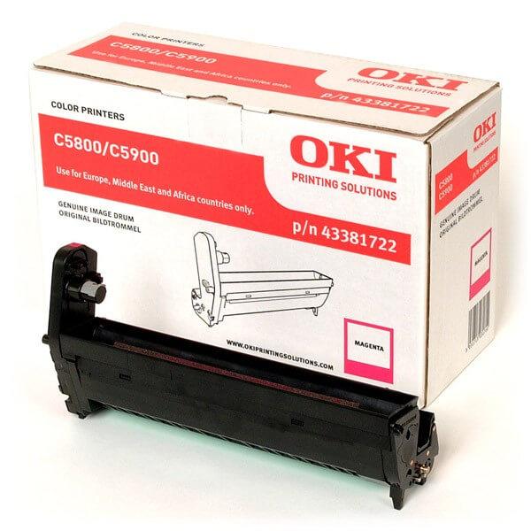 Original OKI Image Drum 43381722 magenta - reduziert