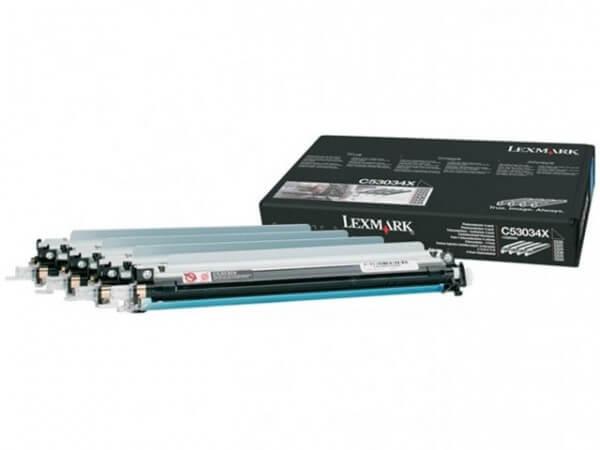 Original Lexmark Fotoleiter Kit C53034X 4-Farbig - reduziert