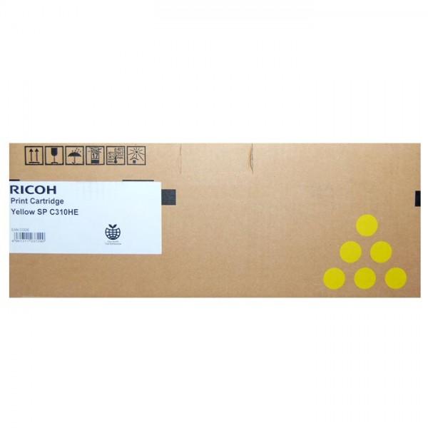 Original Ricoh Toner 406482 TYP SPC310HE yellow - Neu & OVP