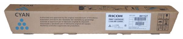 Ricoh MP C3300 Toner 841127 cyan - reduziert