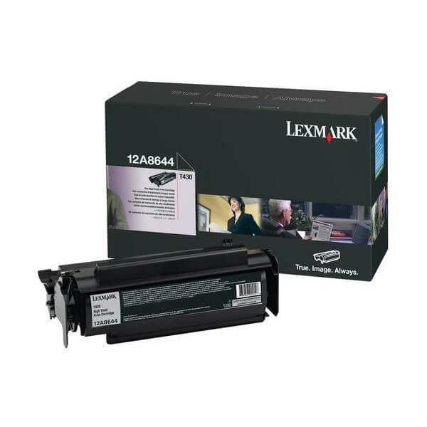 Lexmark Toner 12A8644 black