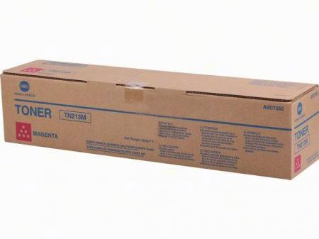 Original Konica Minolta Toner TN213M magenta A0D7352 - Neu & OVP