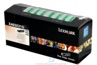 Lexmark Toner X463X31G black