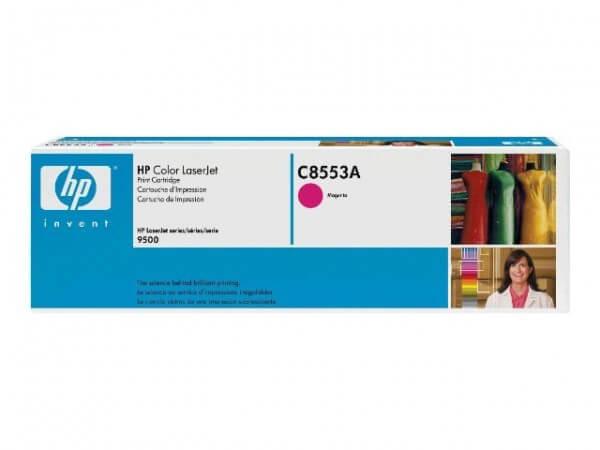 Original HP Color Laserjet Toner C8553A magenta - Neu & OVP