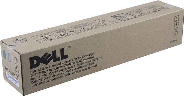 Original Dell GD907 Toner 593-10118 cyan - Neu & OVP