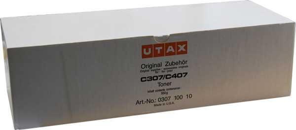 Utax Toner 030710010 black - reduziert