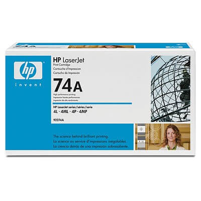 Original HP Laserjet Toner 92274A black - Neu & OVP