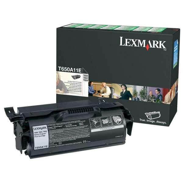 Lexmark Toner T650A11E black - reduziert