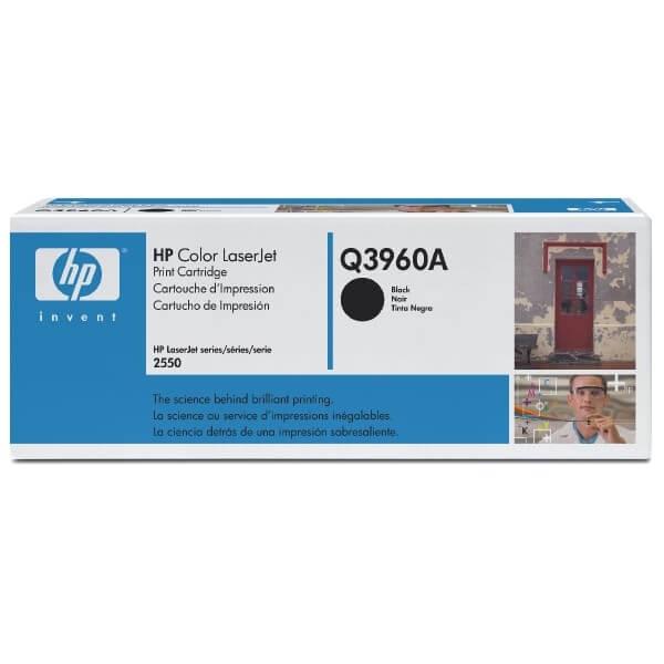 HP Color Laserjet Toner Q3960A black