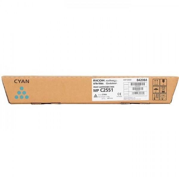 Ricoh MP C2551 Toner 842064 cyan - reduziert