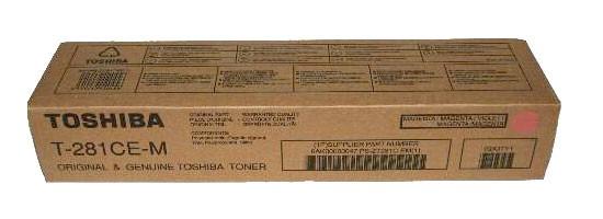 Original Toshiba Toner T-281CE-M magenta - Neu & OVP