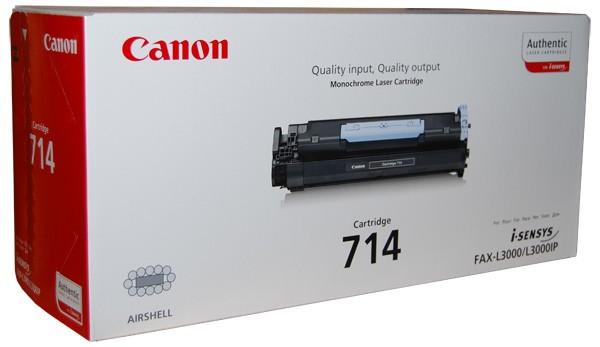 Canon Cartridge 714 Toner 1153B002 black