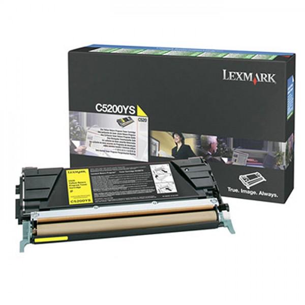 Lexmark Toner C5200YS yellow