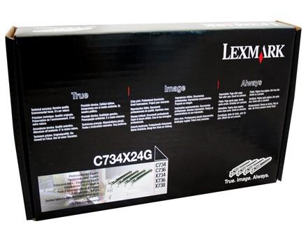 Lexmark Fotoleiter C734X24G 4-Farbig - reduziert