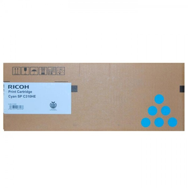Original Ricoh Toner 406480 TYP SPC310HE cyan - reduziert