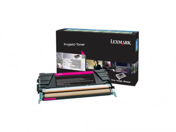Lexmark Toner X746A3MG magenta