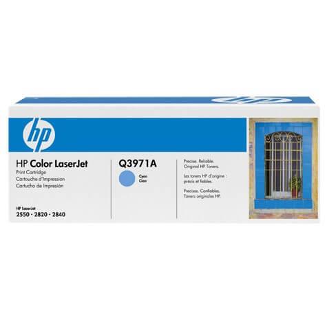 Original HP Color Laserjet Toner Q3971A cyan - reduziert