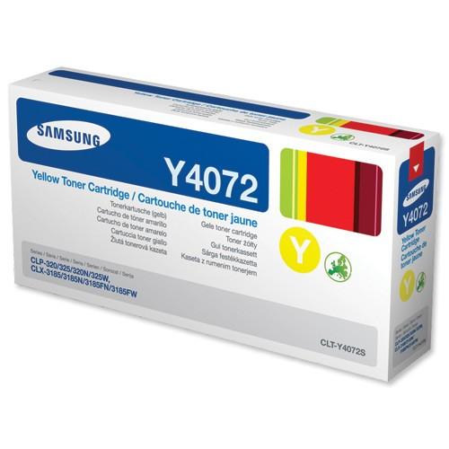 Original Samsung Toner CLT-Y4072S yellow - reduziert