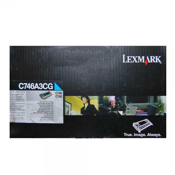 Original Lexmark Toner C746A3CG - Neu & OVP