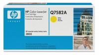 Original HP Color Laserjet Toner Q7582A yellow - Neu & OVP