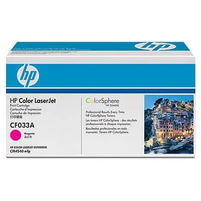 HP Color Laserjet Toner CF033A magenta - reduziert