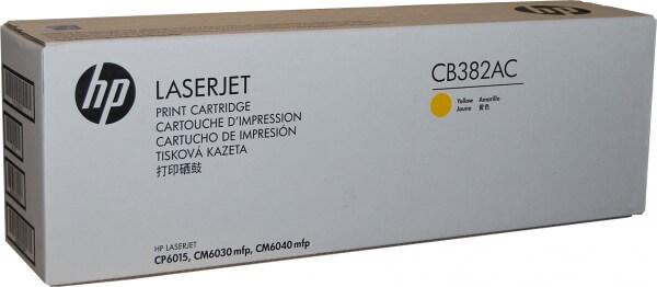 Ori. HP Toner CB382YC yellow Projekt hohe Kapazität - reduziert