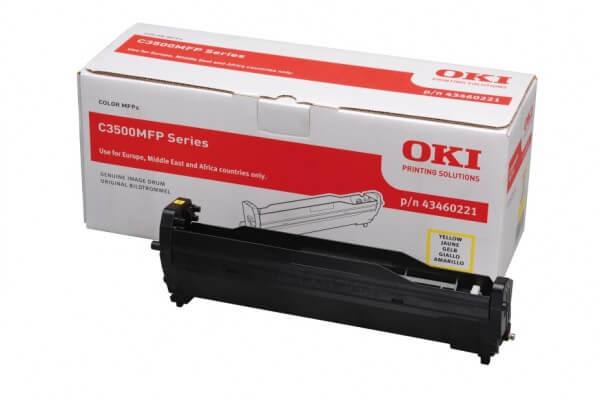 Original OKI Bildtrommel 43460221 yellow - Neu & OVP