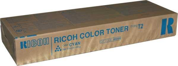 Original Ricoh Toner 888486 Type T2 cyan - Neu & OVP