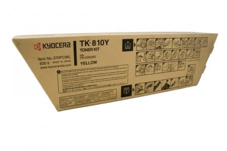 Original Kyocera Toner TK-810Y yellow - Neu & OVP
