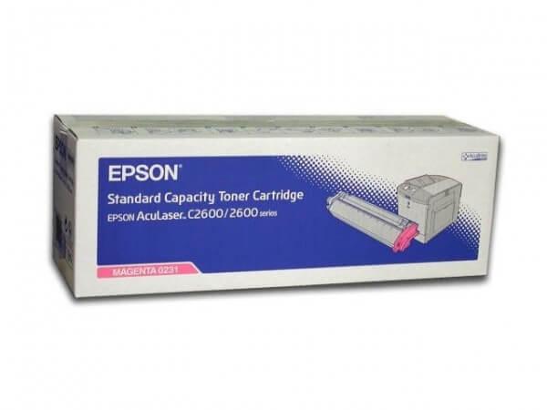 Original Epson AcuLaser Toner S050231 magenta - reduziert