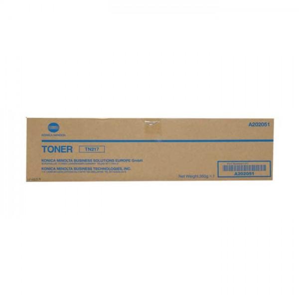 Ori. Konica Minolta TN-217 Toner A202051 black - reduziert