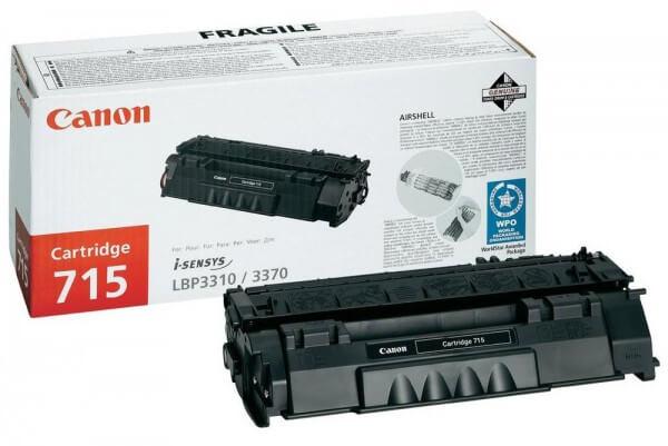 Original Canon 715 Toner 1975B002 black - reduziert